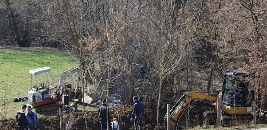 Počeli radovi na izgradnji kanalizacionog kolektora u MZ Vitinica