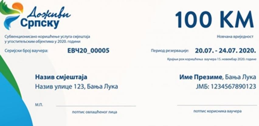 U Republici Srpskoj izdato više od 3.800 vaučera