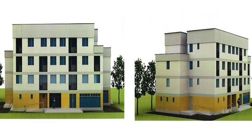 U Sapni uskoro počinje izgradnja zgrade sa 18 stambenih jedinica