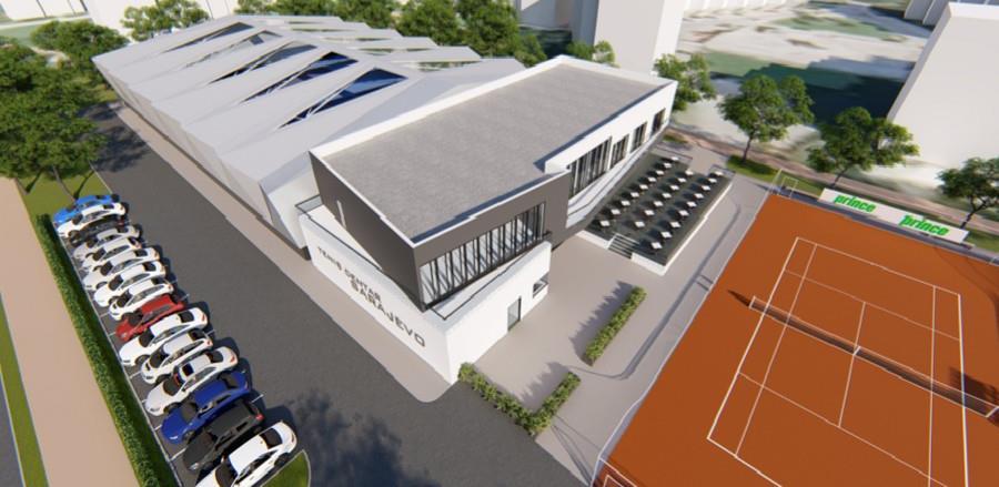 Ovako bi trebao izgledati Teniski park na Dobrinji