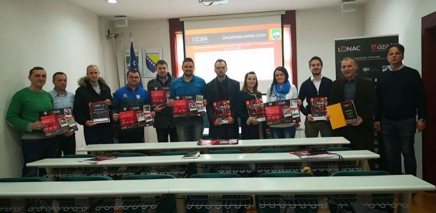 Podržano deset društveno - korisnih projekata Omladinske banke Cazin