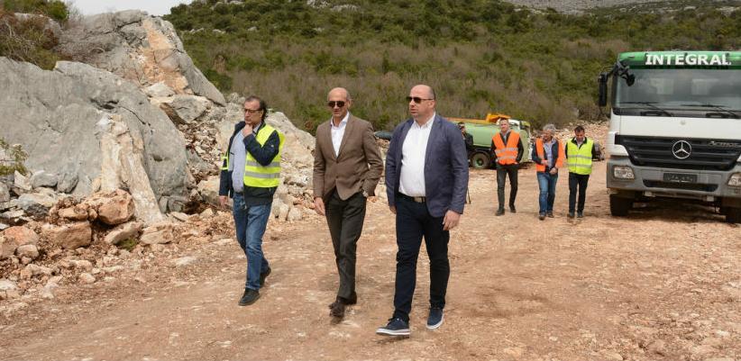 Počeli radovi na izgradnji saobraćajnice Neum -Stolac