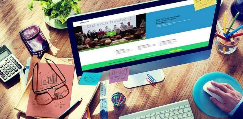 Web stranicu ima 65,8 posto anketiranih preduzeća u BiH