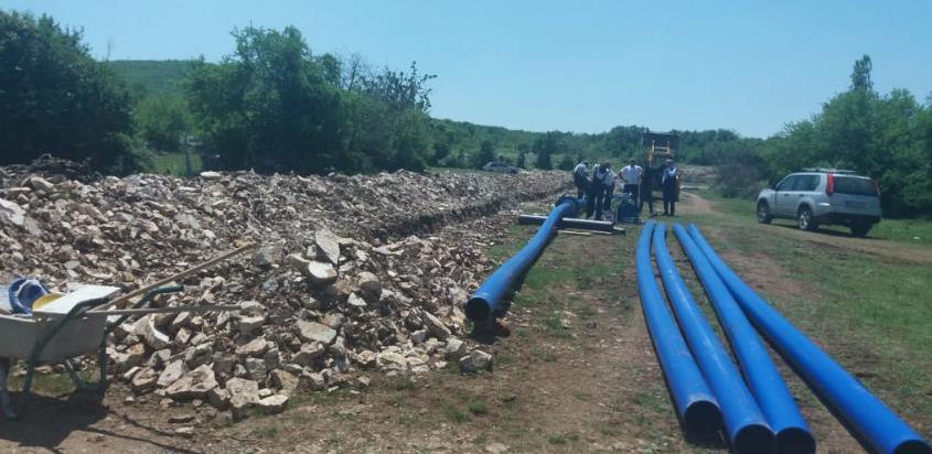 Završena prva faza izgradnje vodovoda u Baljcima
