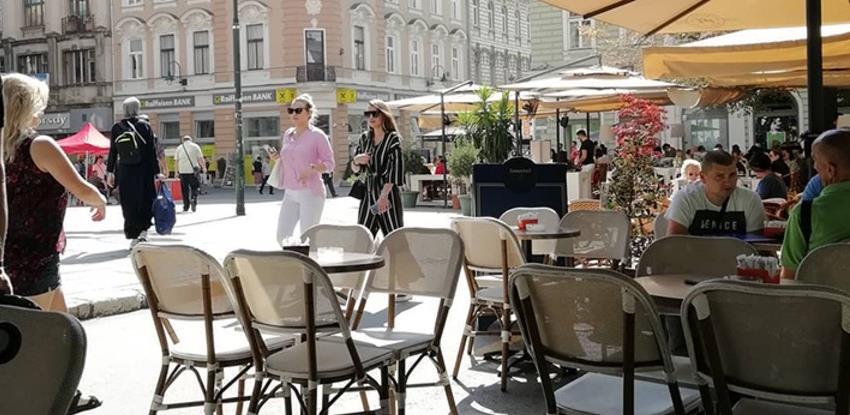 Sarajevo: Inspekcija sankcionisala zbog prekobrojnih gostiju u kafićima