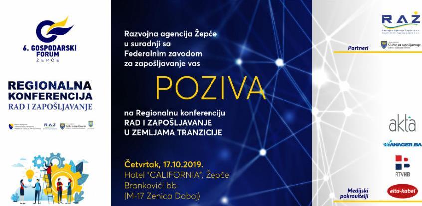 Regionalna konferencija o radu i zapošljavanju u Žepču