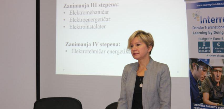 """Posjeta Sarajevu učesnika projekta """"Učenje kroz rad / Learning by doing"""""""