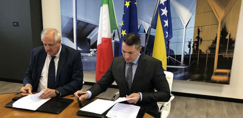 BiH i Italija potpisale sporazum o učešću na specijalističkim sajmovima