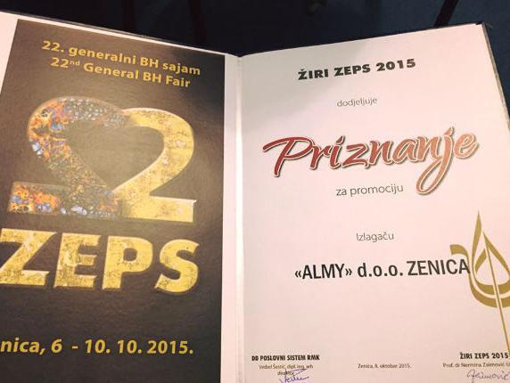 Dobitnici priznanja ZEPS-a 2015.