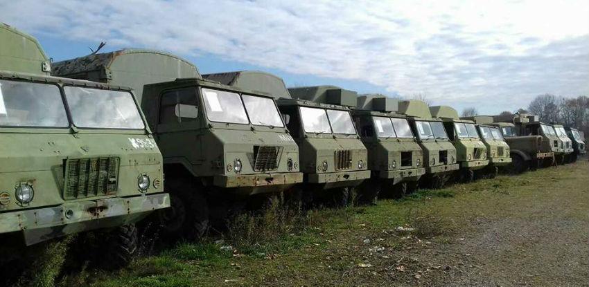 Oružane snage BiH nabavljaju vozila vrijedna 21 milion KM