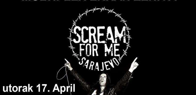 Scream for me Sarajevo pretpremijerno u Multiplexu Ekran Zenica