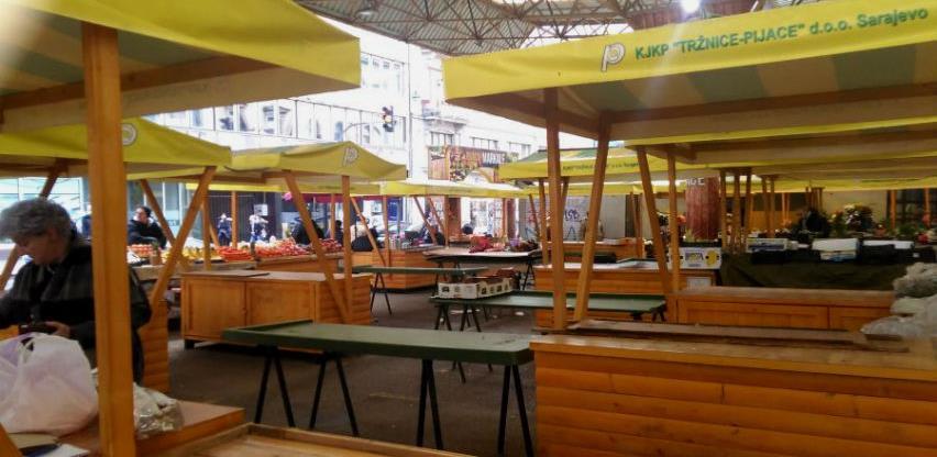 Tržnice planiraju milionske investicije: Novi objekti na Dobrinji i u Vogošći