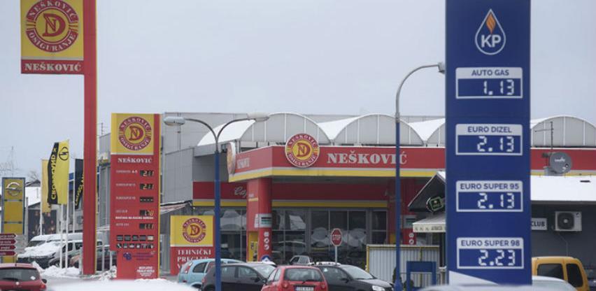 Gorivo u BiH skuplje nego u Austriji