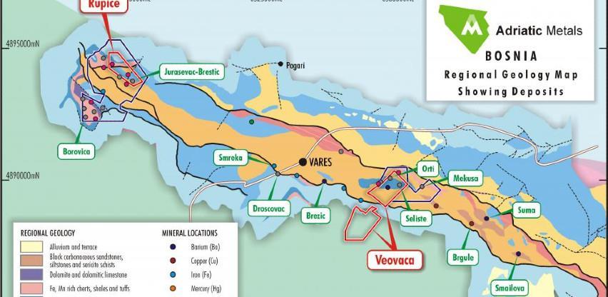 Vrijednost rudnika u Varešu skoro milijardu dolara