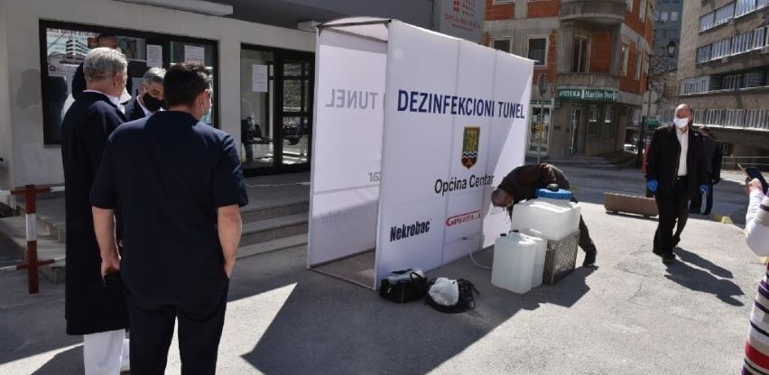 Opća bolnica u Sarajevu dobila tunel za dezinfekciju
