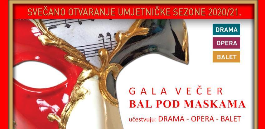 """Gala večer Narodnog pozorišta u Sarajevu """"Pod maskama"""""""