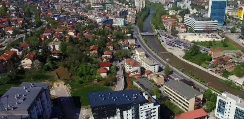 Između ulica Skenderija i Podgaj u planu izgradnja zgrade