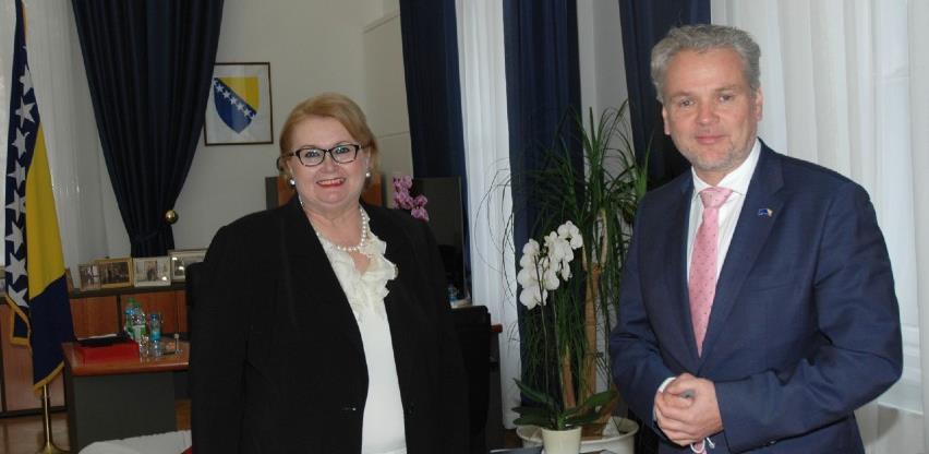 Ministrica Turković i ambasador Sattler o ubrzanju integracije BiH u EU