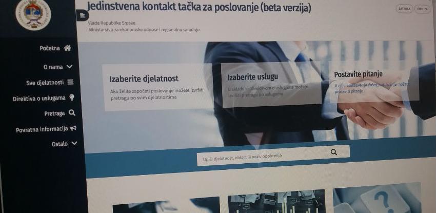 """Privrednici u RS dobili """"jedinstvenu kontakt tačku za poslovanje"""""""