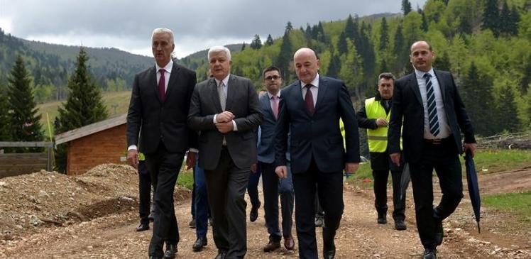Otvoreno Euro-Asfaltovo gradilište u Crnoj Gori