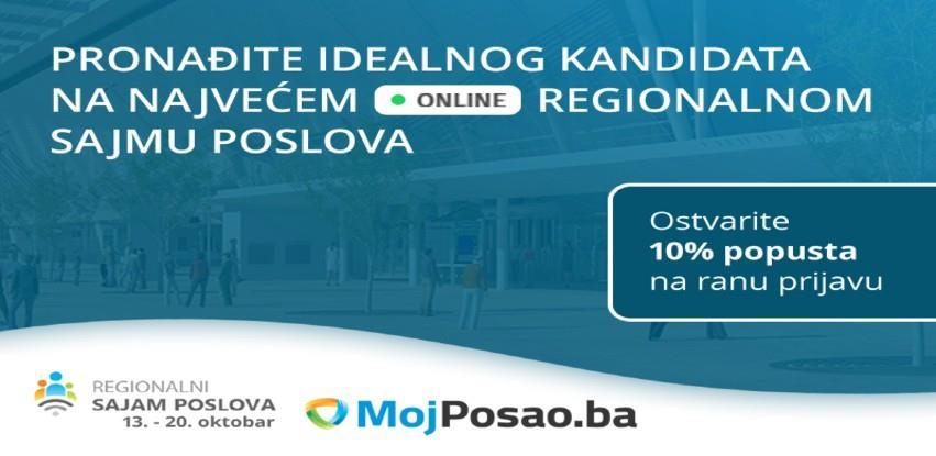 Online Regionalni sajam poslova: Jedinstvena prilika za pronalaženje kandidata i employer branding