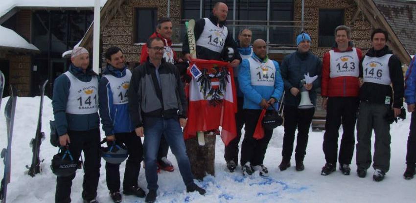 Austrijski ambasador Martin Pammer pobjednik prve ski-trke ambasadora