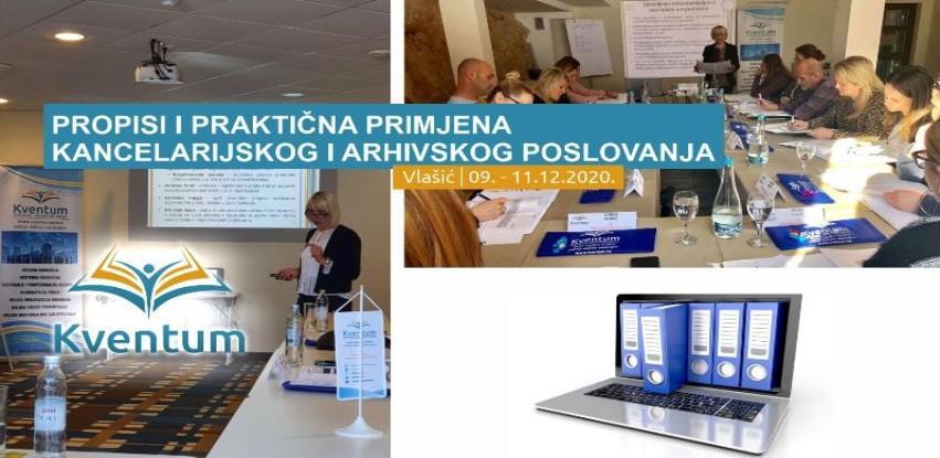 Propisi i praktična primjena kancelarijskog i arhivskog poslovanja
