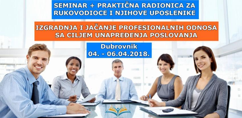 Kventum: Seminar + praktična radionica za rukovodioce i njihove uposlenike