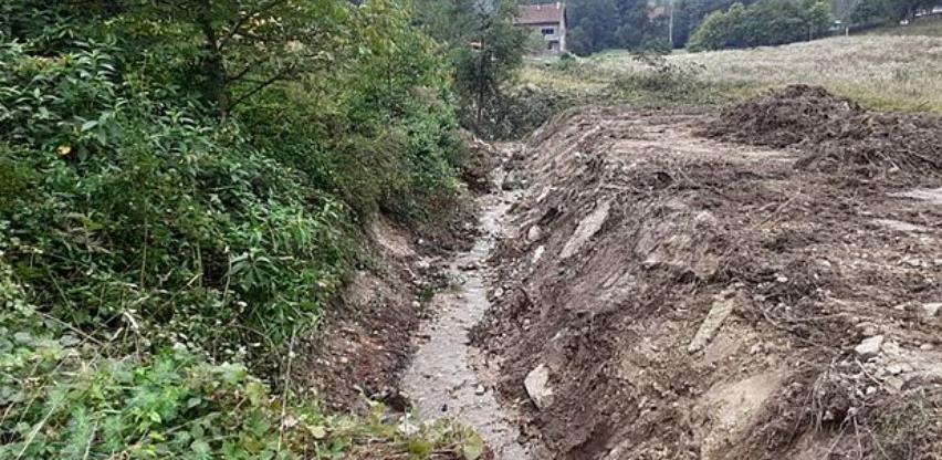 Počelo uređenje obala i korita vodotoka II kategorije u Zenici