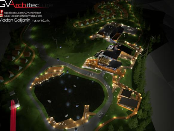 Pogledajte idejni projekt za Turističko-rekreacioni centar Pale