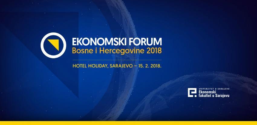 Ekonomski forum Bosne i Hercegovine u 15. februara u Sarajevu