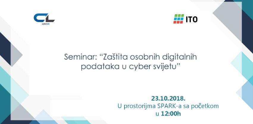 """Poziv na seminar """"Zaštita osobnih digitalnih podataka u cyber svijetu"""""""
