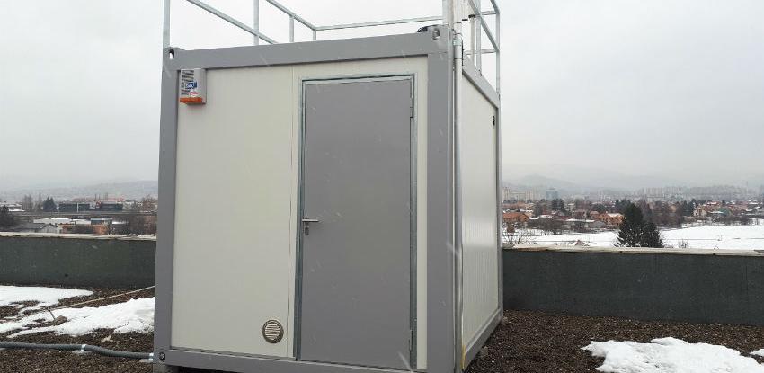 Nova moderna automatska stanica za monitoring kvaliteta zraka u KS-u