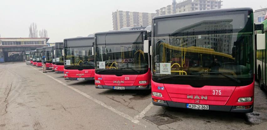 Novi autobusi na plin na linijama Grasa