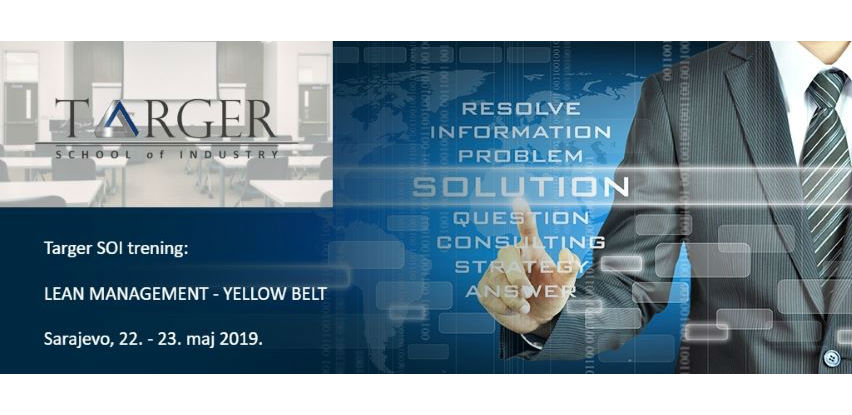 Targer School of Industry trening: Lean management - Yellow belt