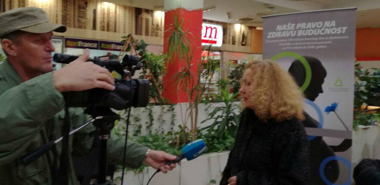 Obilježavanje svjetskog dana šećerne bolesti u gradovima Ze-Do kantona