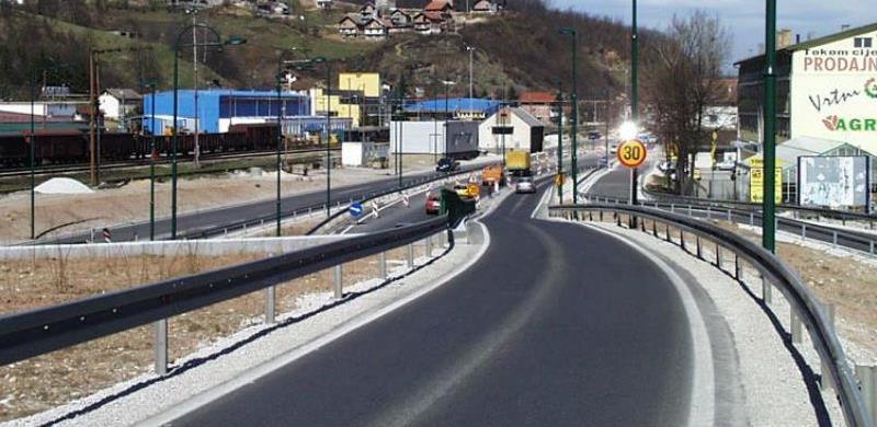 Počinje izgradnja isključne trake sa ceste Zapadni prilaz gradu u naselju Osijek