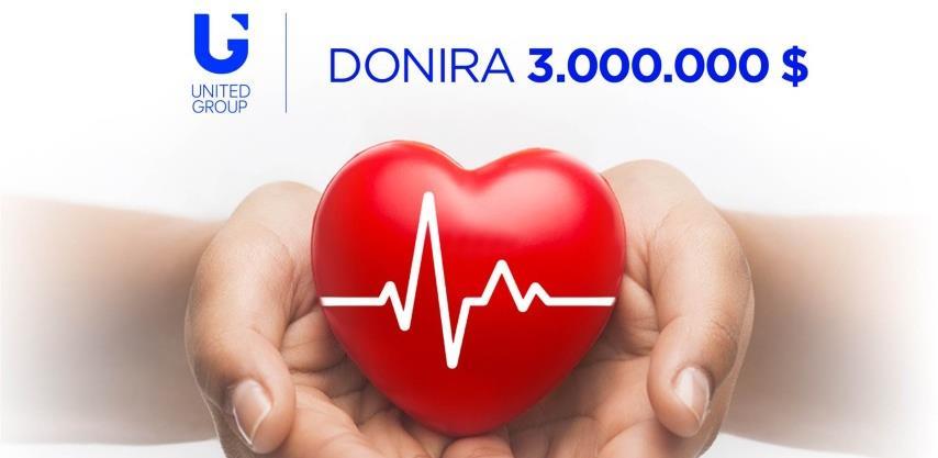 United Grupa pomaže zemljama regiona sa 3 mil. dolara, za BiH 400.000