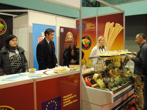 Lithuanians market cheeses in BiH with EU's help