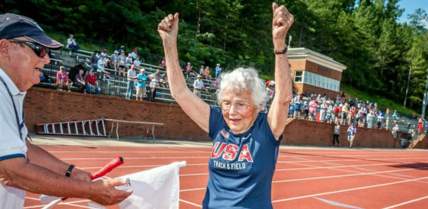 Superbaka sa 103 godine pomiče sve granice i ruši rekorde u trčanju