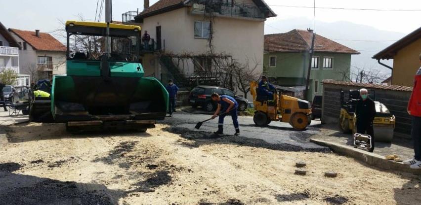 Bosman vrši asfaltiranje dijela ulice Reisa Fehima Spahe