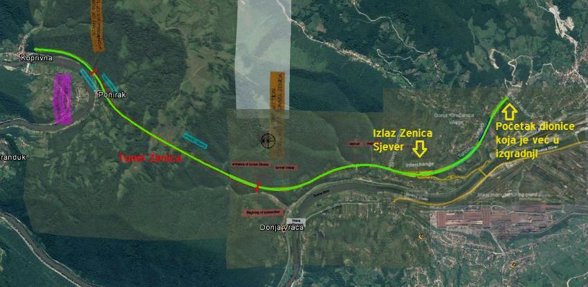 Koridor Vc: Počinje eksproprijacija zemljišta na dionici Poprikuše - Nemila