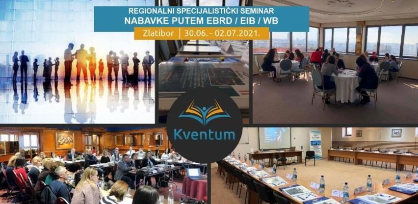 Regionalni specijalistički seminar: Nabavke putem međunarodnih finansijskih institucija