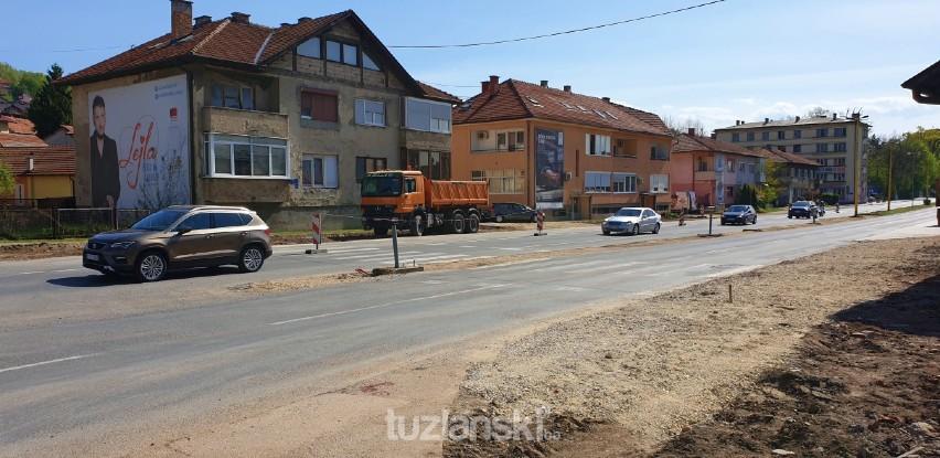 """Počeli radovi na rekonstrukciji raskrsnice kod tuzlanske """"Livnice"""""""