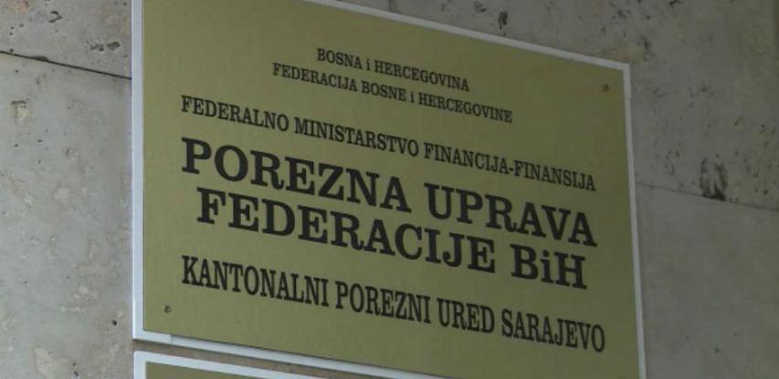 Porezni obveznici FBiH uplatili 1.255.491.243 KM javnih prihoda