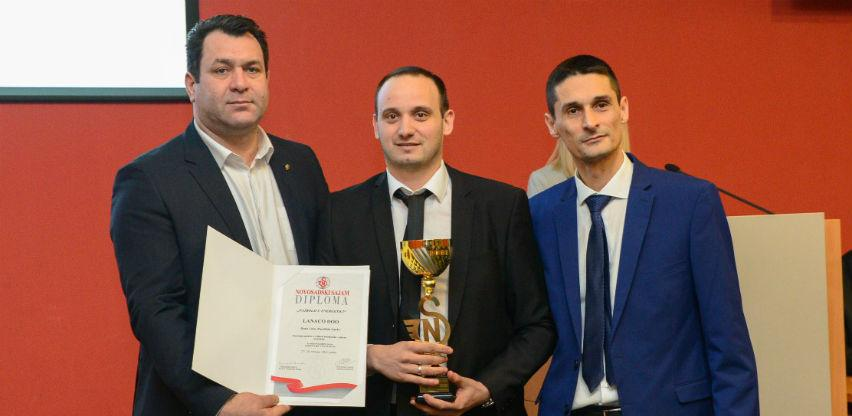 Nagrada za inovaciju godine u oblasti energetike za LANACO