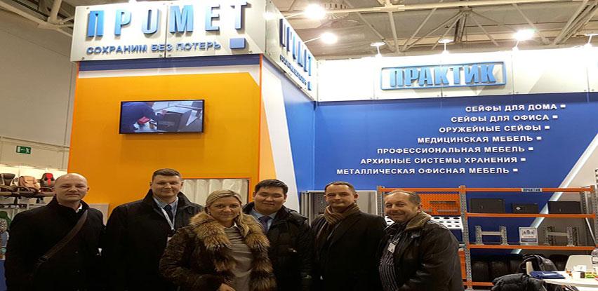 Posjet delegacije SBO tvrtki Promet u Moskvi