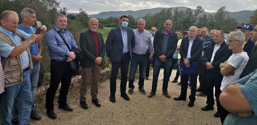 Firma Holex izabrana za izgradnju puta Rainci Donji - Tupković