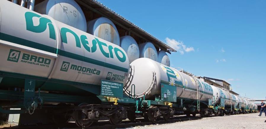 Sirovina u Rafineriju ulja Modriča ponovo stiže željeznicom