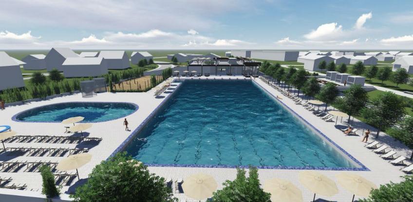 Odbijena žalba: Naredne sedmice nastavlja se izgradnja bazena na Dobrinji